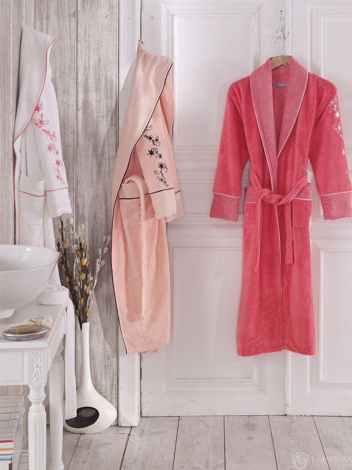 1cbd540e46f8 Купить красивые женские домашние банные халаты в интернет  магазине  Галактика текстиля